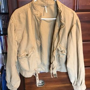 Brand NEW free people bomber jacket - never worn
